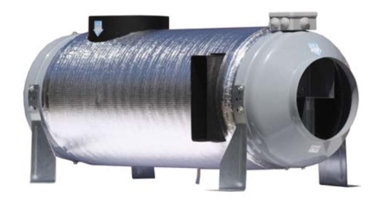 Najnowsze Rekuperator przemysłowy ścienny PRANA 340S/340S+ • Od 4146.34 zł XJ99